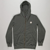 Quiksilver Dane Pretty Simple Hoodie Smoke 2f S 7c Free UK Delivery