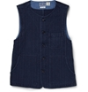 Blue Blue Japan Sashiko Textured Cotton Waistcoat Mr Porter