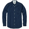 Acne Isherwood Denim Shirt Washed Denim