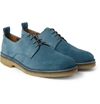Ami Crepe Soled Suede Derby Shoes Mr Porter