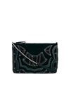 River Island 7c River Island Black Appliqued Suede Cross Body Bag su ASOS