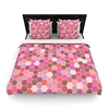 Amazon.Com Kess Inhouse Nandita Singh Blush Tiled Pink Twin Woven Duvet Cover 68 By 88 Inch