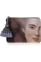 Anya Hindmarch c2 a0 7c c2 a0Courtney Lady printed canvas and leather clutch c2 a0 7c c2 a0NET A PORTER COM