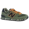 Amazon.Com New Balance 574 Classic Traditionnels Green Mens Trainers Size 9 Us Shoes