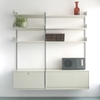 Vitsoe Furniture Shelving Original Production 606 Universal Shelving System Config E