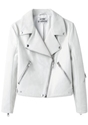 Acne Studios 2f Rita Leather Jacket 7c La Gar c3 a7onne