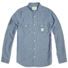 A.P.C. X Carhartt Sailor Shirt Blue