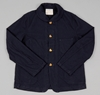 Coast Worker Jacket Navy Wool Hickoree's