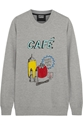 Markus Lupfer British Cafe Sequined Cotton Jersey Sweatshirt Net A Porter.Com