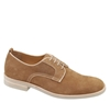 Johnston 26 Murphy 3a DOLBY PLAIN TOE Tan Suede