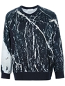 Chalayan Marble Print Sweater Henrik Vibskov Boutique farfetch com