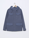 Over All Master Cloth Nylon Parka Blue Nitty Gritty Store
