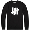 Undefeated 5 Strike Basic Pullover Crew Black