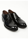 Men's Black Classic Derby Shoes