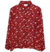 Ganni Flower Print Shirt 7c HUH Store
