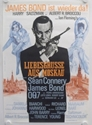 From Russia With Love Re Release German Movie Poster