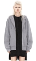 Acne Bit Fleece Grey Melange Shop Ready To Wear Accessories Shoes And Denim For Men And Women