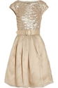 Mikael Aghal Sequined organza dress 60 25 Off Now at THE OUTNET