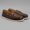 Sperry Top Sider Gold Authentic Original 2 Eye Brown 7c Oi Polloi