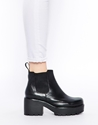 Vagabond Vagabond Leather Dioon Chelsea Ankle Boots At Asos