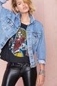 After Party Vintage Wanted Denim Jacket Shop What's New At Nasty Gal