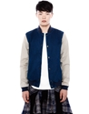 Denim Bomber Jacket Jackets Man Pull Bear United Kingdom