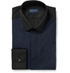 Product Lanvin Panelled Cotton Shirt 396942 Mr Porter