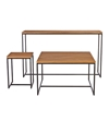 Natural Oak Metal Console Coffee Side Tables Living Room Shop By Room The Conran Shop Uk