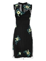 Floral embroidered tulle dress 7c Christopher Kane 7c MATCHESFAS