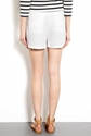See by Chloe 7c Pleat Front Crepe Shorts by See by Chloe