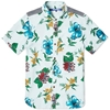 Junya Watanabe Man Short Sleeve Hawaiian Shirt Sky
