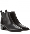 Jensen Leather Ankle Boots Acne Studios Mytheresa.Com