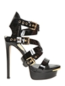 Dsquared 150Mm Patent Leather Belted Sandals Luisaviaroma Luxury Shopping Worldwide Shipping Florence