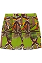 Etro Printed Stretch Cotton Shorts Net A Porter.Com