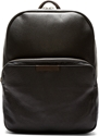Marc By Marc Jacobs Blue Black Grained Leather Backpack Ssense