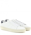 Leather Sneakers Saint Laurent Mytheresa.Com