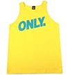 Only NY Volley Tank Top Vest Yellow from Only NY Clothing