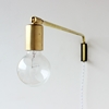 onefortythree e2 80 94 Brass swing lamp 16 22 24 22
