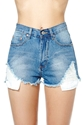 Wrecked Cutoff Shorts Shop Swim City At Nasty Gal