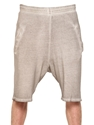 Silent By Damir Doma Washed Cotton Sweat Shorts Luisaviaroma Luxury Shopping Worldwide Shipping Florence