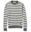 Ami Striped Wool Sweater Mr Porter