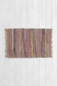 Magical Thinking Striped Leather Rug Urban Outfitters