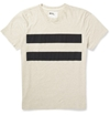 Margaret Howell Mhl Printed Cotton And Linen Blend Jersey T Shirt Mr Porter