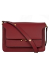 Marni Dark Red Trunk Leather Bag Designer Bags Liberty.Co.Uk