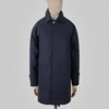 Navy blue Ventile cotton mac e2 80 94 S E H Kelly e2 80 94 Clothes made in England and the British Isles