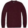 A.P.C. Donegal Crew Knit Bordeaux