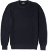 A.P.C. Ribbed Linen And Cotton Blend Sweater Mr Porter