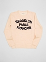 Brooklyn We Go Hard Sweatshirt Salmon 7c Present London