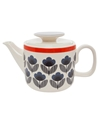 Blue Poppy Meadow Teapot Orla Kiely. Shop More Kitchen And Dining Accessories From The Orla Kiely Collection Online At Liberty.Co.Uk