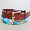 Fox in the Henhouse Needlepoint Belt Needlepoint Belts Needlepoint Belts 26 Accessories